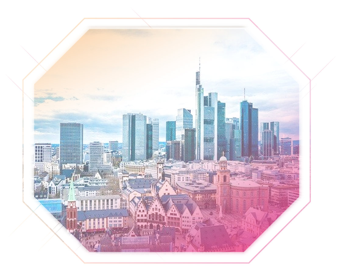 Aufnahme Stadtpanorama Frankfurt