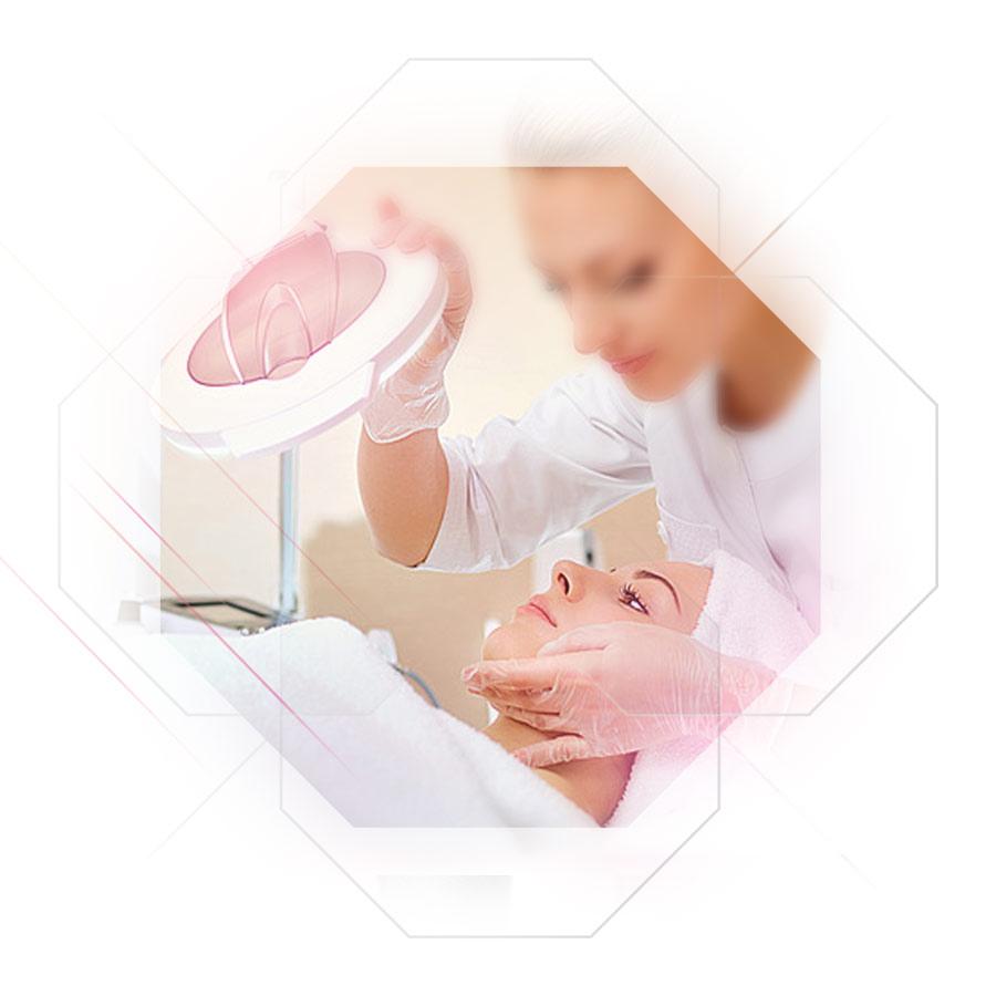 Foto Hautanalyse vor Behandlung