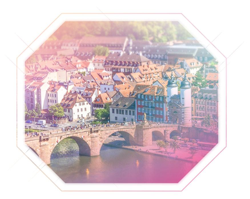 Aufnahme Panorama Heidelberg