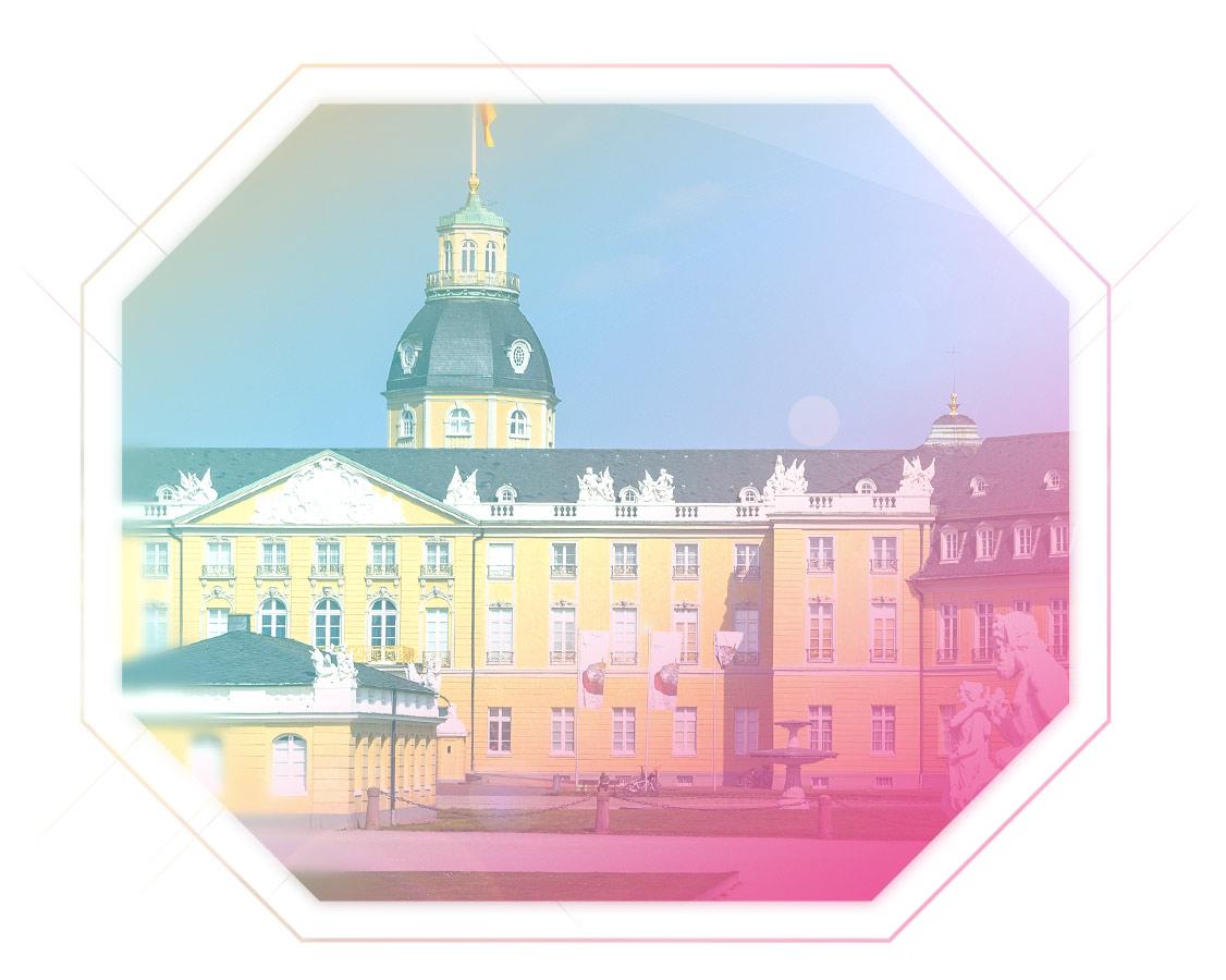 Aufnahme Karlsruhe Schlossansicht