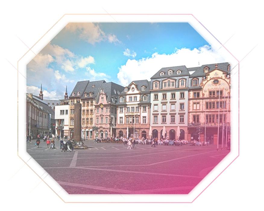 Aufnahme Marktplatz Mainz