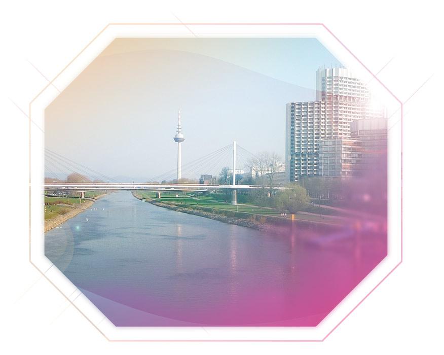 Aufnahme Mannheim Neckar