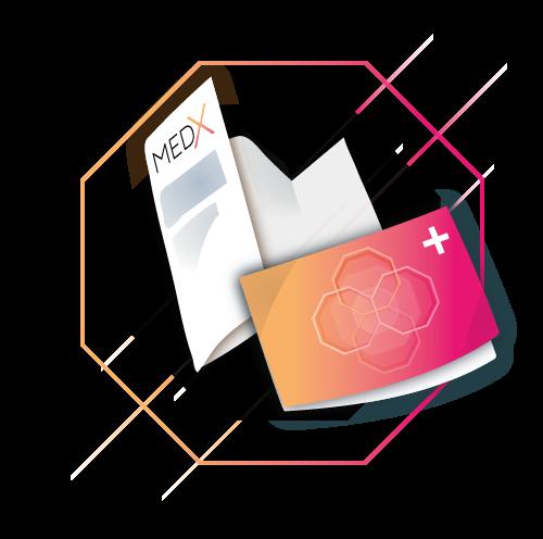 Icon für Infomaterial von MedX